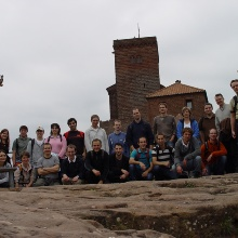 Group picture at Burg Trifels