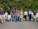 Group picture at the beginning of our hiking tour