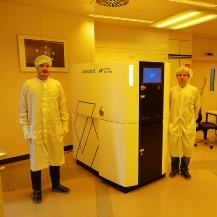 The new Quantum X in our cleanroom.