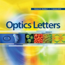 Optics Letters Titlepage OSA | Optics Letters